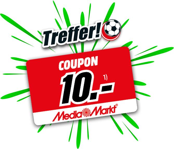 Jeder Schuss ein Treffer: 10€ Media Markt Coupon (100€ MBW) in Ferrero Aktionspackungen - offline Einlösung