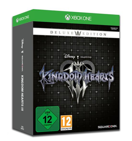 Kingdom Hearts III Deluxe Edition (Xbox One) für 19,99€ (GameStop)