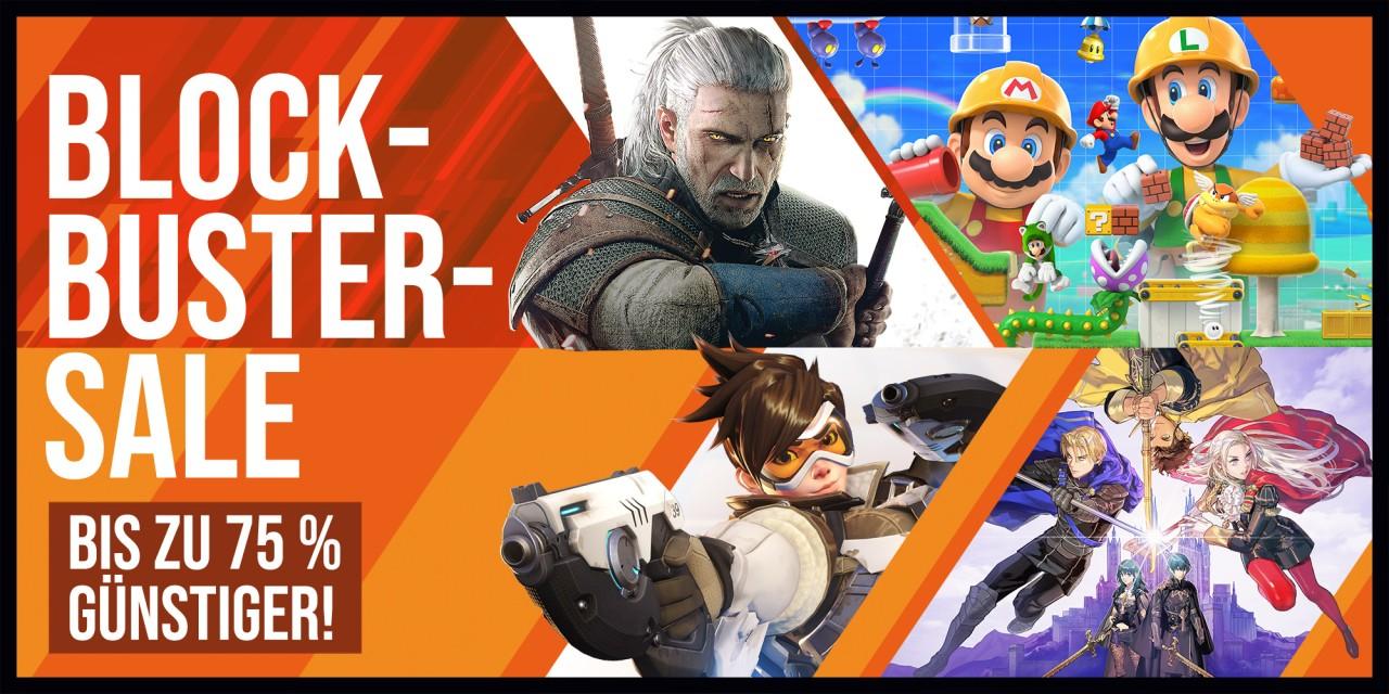 [Nintendo eShop] Bis zu 75% günstiger: Blockbuster-Sale - Fire Emblem: Three Houses und Super Mario Maker 2 mit je 33%, Nintendo Switch