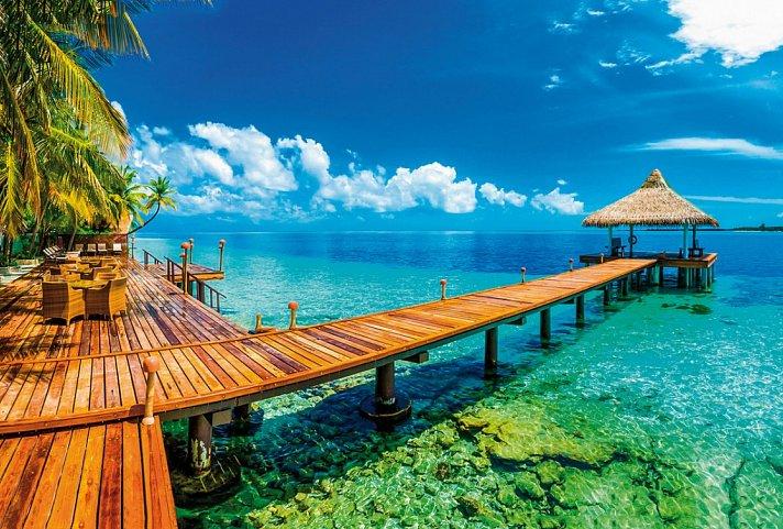 [Mai-Jul] 4* Hotel Malediven Hotel+Flug 7Nä. von FRA(Lufthansa) für 2 Personen All Inclusive