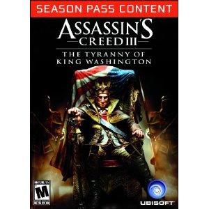[Steam] Assassin's Creed 3 Season Pass für 17€ @Amazon.com