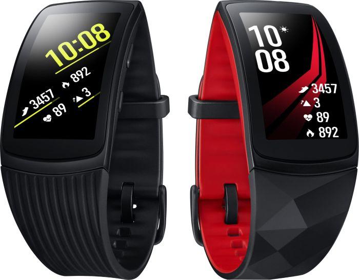 "Samsung Gear Fit 2 Pro (1.5"", AMOLED, 432x216, GG3, 512MB RAM, 4GB Speicher, WLAN, Bluetooth 4.2, Pulsmesser, Gyroskop, GPS, Spotify, 5ATM)"