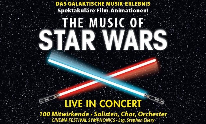 """2 Tickets für """"The Music of Star Wars – Live in Concert"""" in vielen Städten im März"""