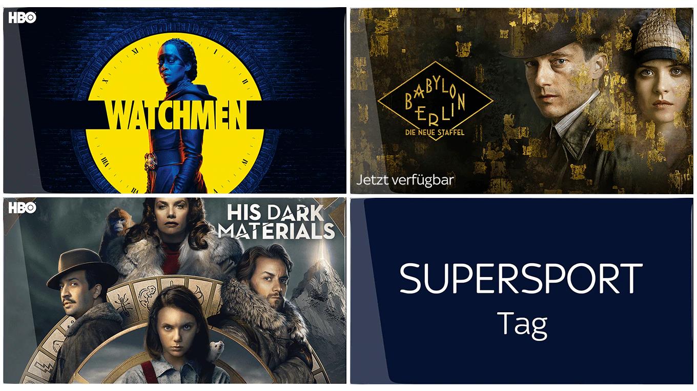 Sky Ticket Neukunden - 1 Monat Entertainment (Serien) + 1x Supersport Tagesticket für 4,99€ - Kündigung notwendig!