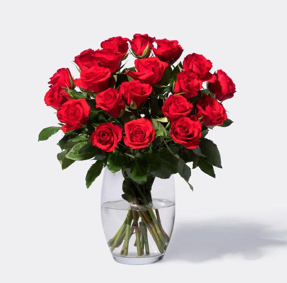 30% Rabatt auf Rosen bei [Blume2000] Bestellung bis 18 Uhr für Valentinstag / 20 rote Rosen inkl. Versand