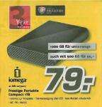 "[LOKAL @ MediMax] externe 2,5"" Festplatte ""iomega Prestige Portable Compact 1TB"" für 79€ / 500GB für 55€"