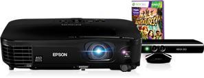 Gratis Kinect beim Kauf eines EPSON EH-TW480 Projektors (Günstig bei meinpaket!)