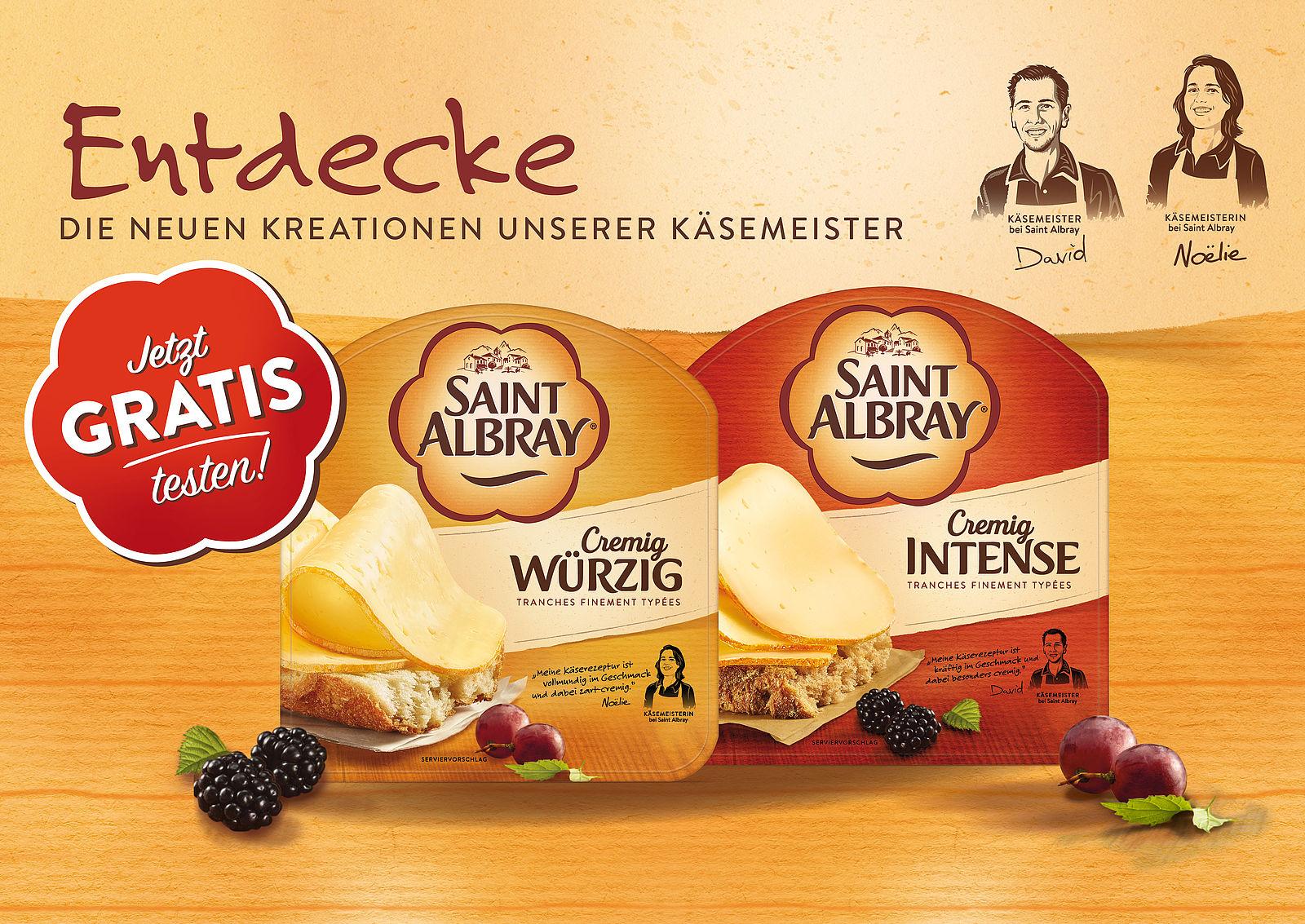 Kostenlos testen 100% Cashback auf Saint Albray Scheiben GzG