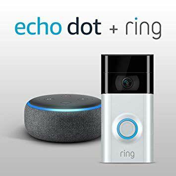Ring Video Doorbell 2 + Echo Dot