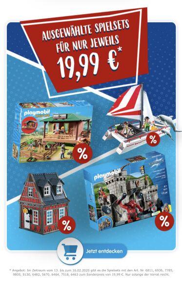 [Playmobil] Rangerstation (6936) und weitere Spielsets für 19,99€ inkl. Versand