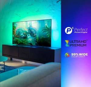 Philips Ambilight 55OLED754/12 139 cm (55 Zoll) OLED Smart TV (4K UHD, P5 Perfect Picture Engine, Dolby Vision, Dolby Atmos, HDR 10+, Saphi)