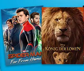Amazon Prime Video - über 300 Leihfilme für je 0,99 €