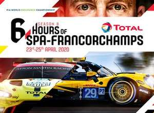 Ticketmaster.be - WEC 6h Rennen in Spa Francorchamps am 25.4.2020