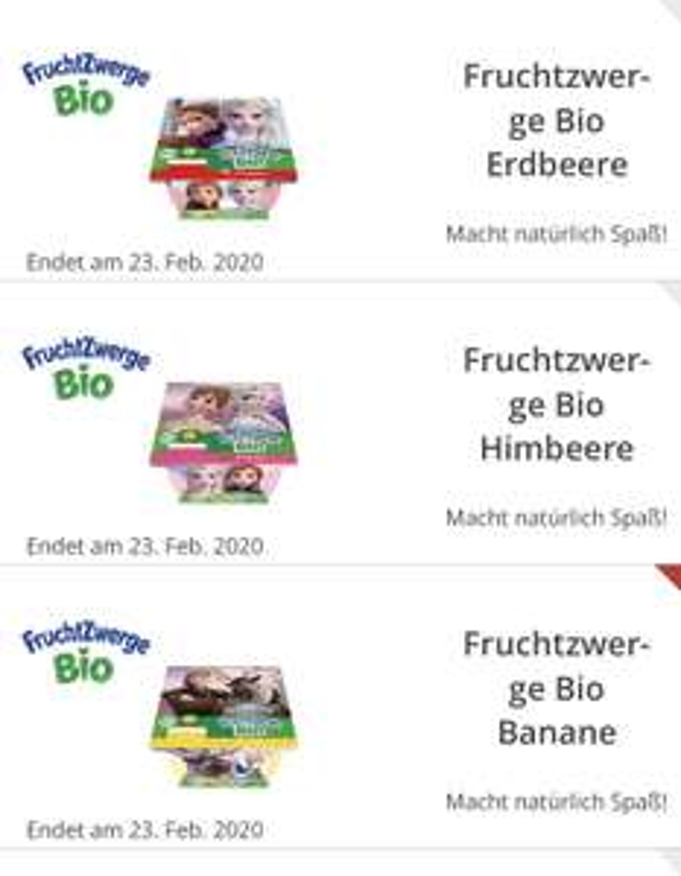 Freebie Bio Fruchtzwerg ( Edeka) alle Sorten
