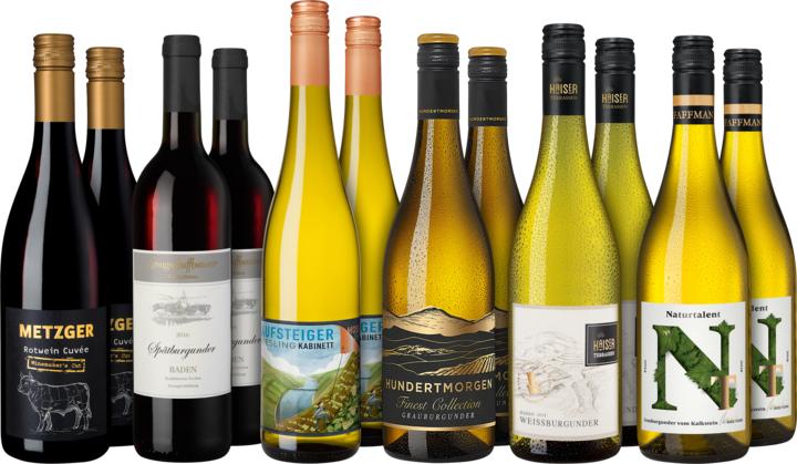 Weinpaket von Hawesko für 76,80€ statt 110,30€
