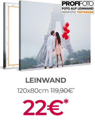 Leinwand 120x80 bei meinfoto.de für 22€ (zzgl. Versand)