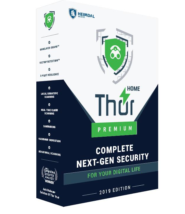 Thor Premium Home - Internet Security-Suite (PC) kostenlos (3 Jahre & 10 Geräte)