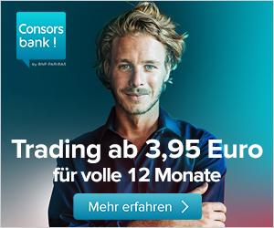 [KWK Consorsbank] 30Euro KWK für Depoteröffnung