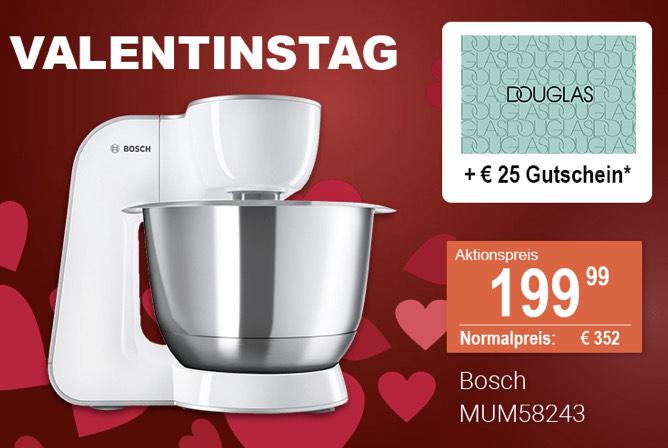 Bosch Küchenmaschine MUM58243 plus 25€ Douglas Gutschein Im Für Uns Shop