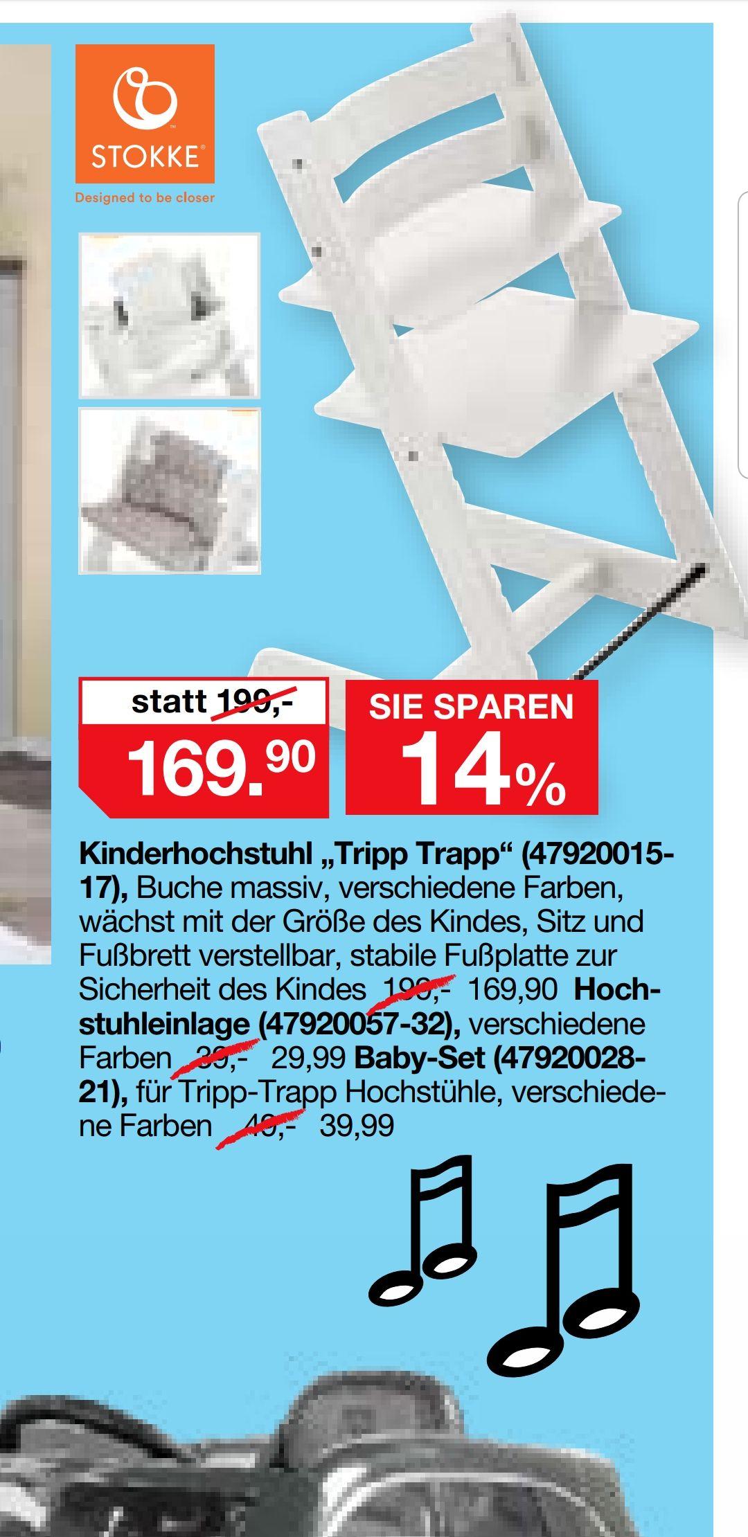 [Lokal] Möbelhaus Pforzheim - Stokke Tripp Trapp Kinderhochstuhl [Preisgarantie]