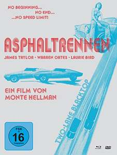 Asphaltrennen - Two-Lane Blacktop Limited Mediabook Edition (Blu-ray + DVD + Bonus-DVD) für 10,49€ (Amazon Prime)