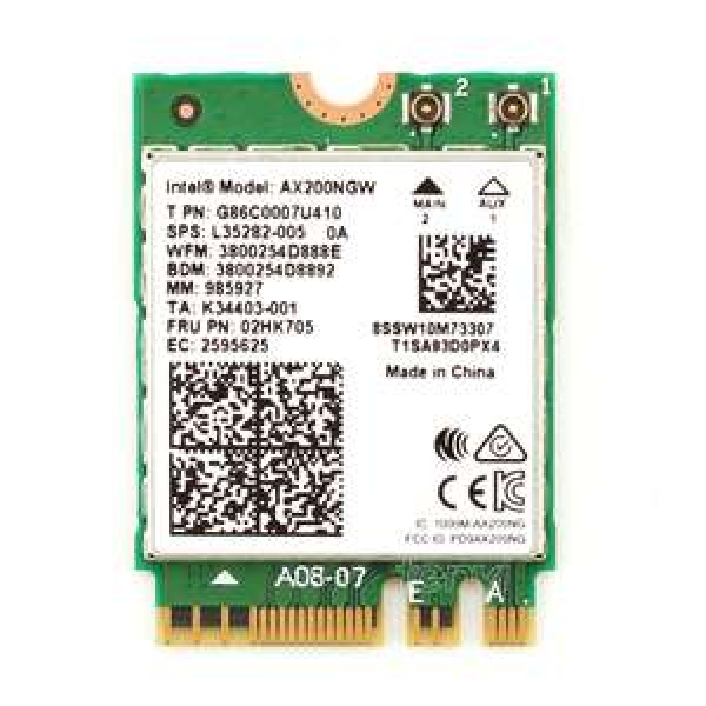 WiFi 6 + Bluetooth 5.0 Upgrade für euer Notebook, Intel AX 200 non vPro (M.2, 2402Mbit/s)