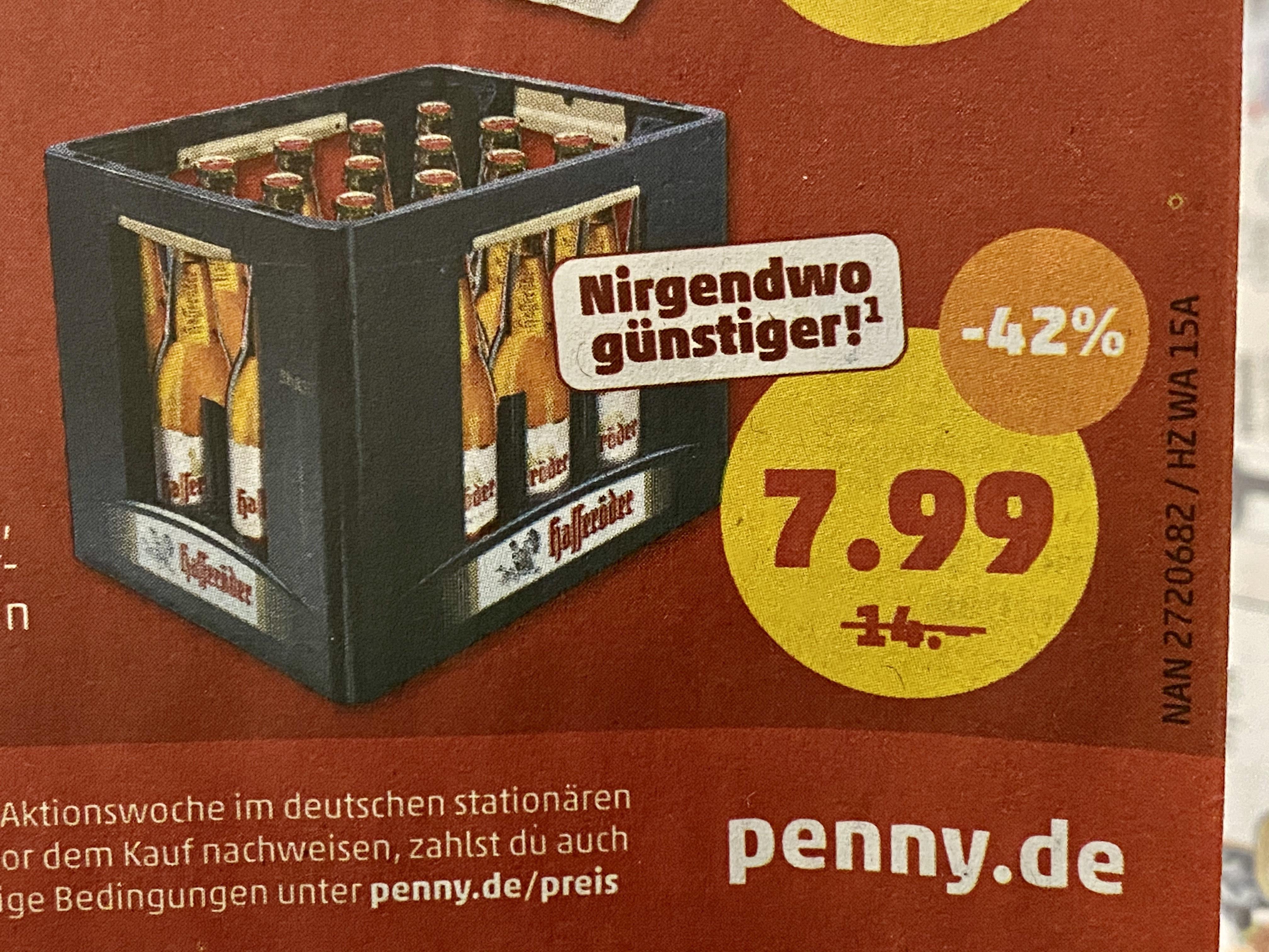 Hasseröder Premium Pils *Penny* 20x0,5 Liter