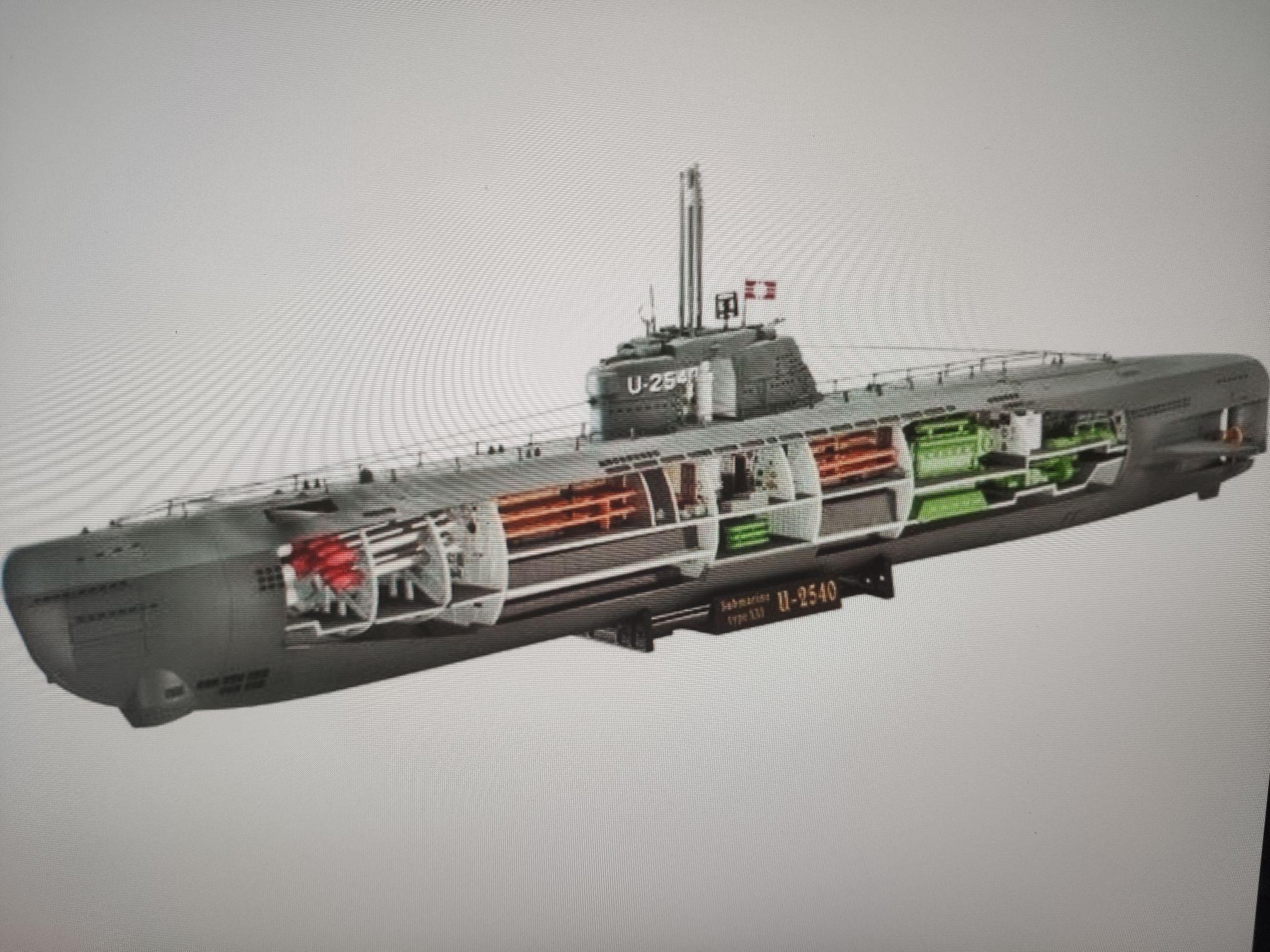 [Prime] Revell 05078 Deutsches U-Boot Typ XXI mit Interieur Maßstab 1:144