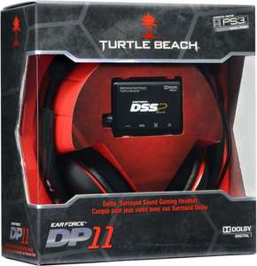 (UK) [TheHut] Turtle Beach Ear Force DP11 (Gaming Headset) für 73,35€ (Idealo ab 101,90€)