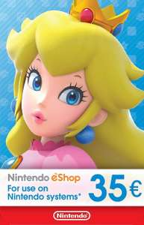 Nintendo Eshop Guthaben 35€