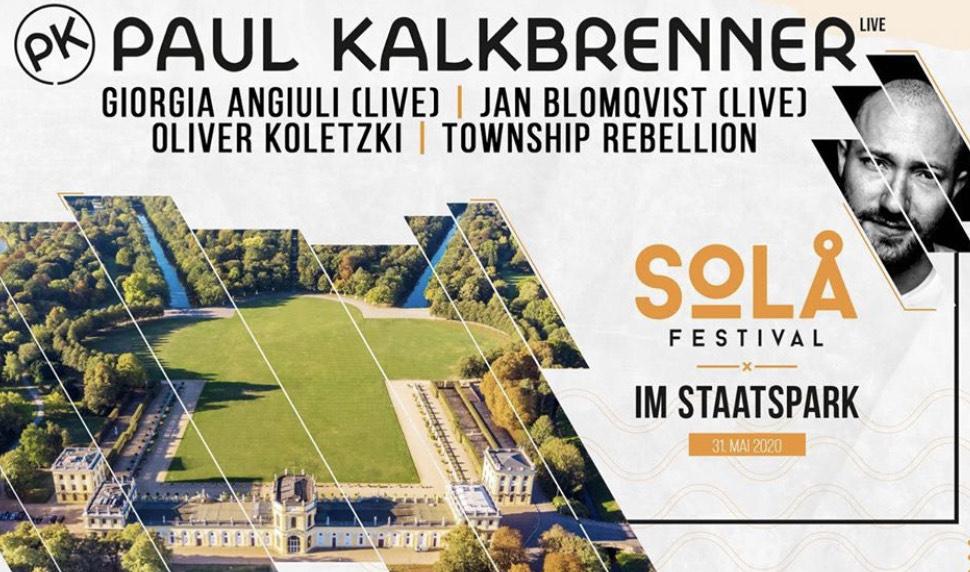 Solå Festival mit Paul Kalkbrenner, Jan Blomqvist, Oliver Koletzki...