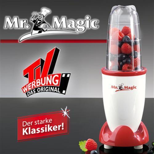 Mr. Magic Mixer Entsafter Küchenmaschine Standmixer Smoothie Maker Neuware