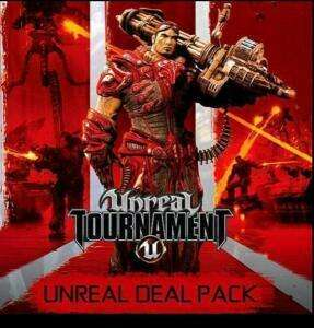 Unreal Deal Pack: Unreal 2: The Awakening, Unreal Gold, Unreal Tournament 3 Black, Unreal Tournament:GotY (Steam) für 2,08€ (GamersGate UK)