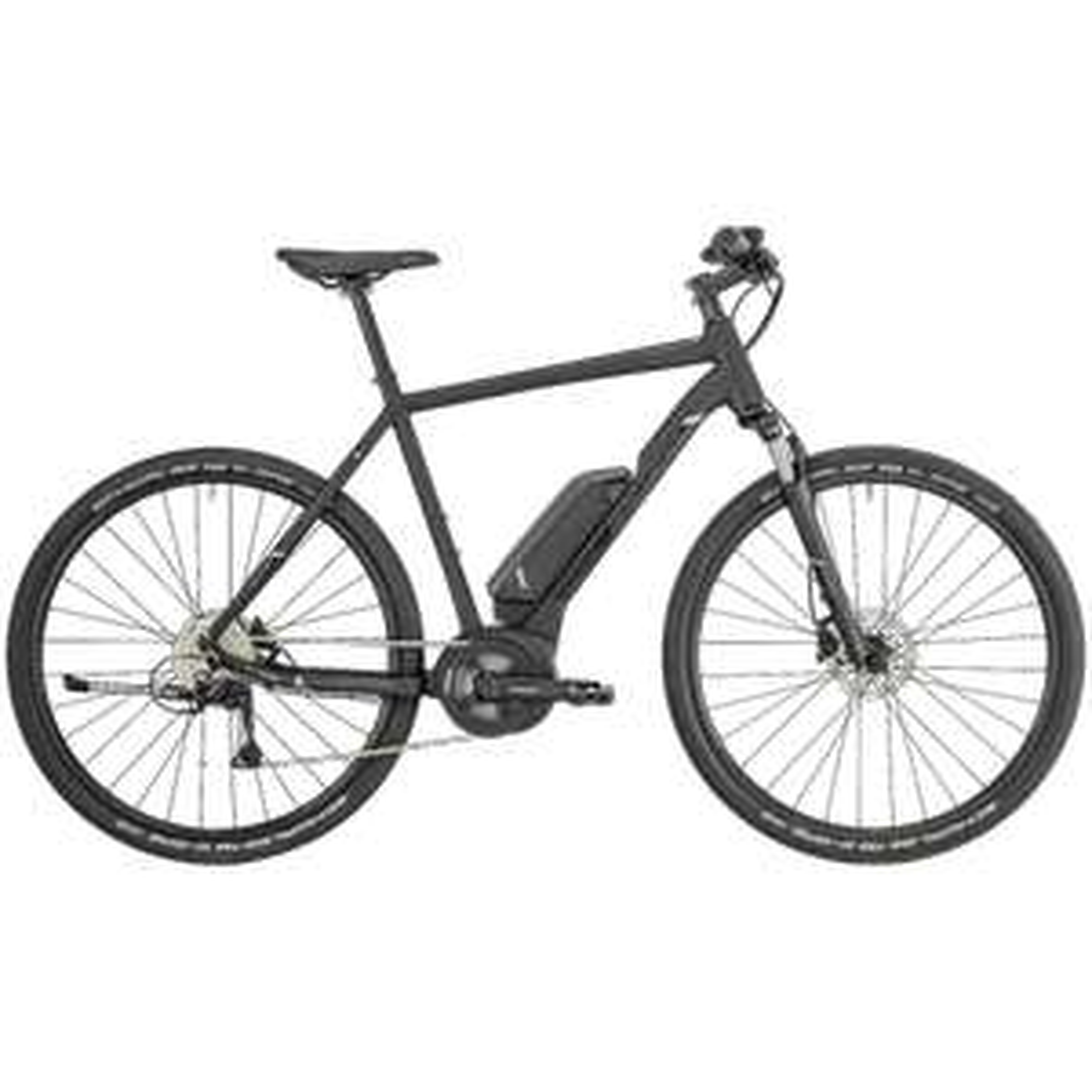 Bergamont E-Helix 6 Gent 2019 (Cross E-Bike mit Bosch Drive Unit Active Line Mittelmotor)