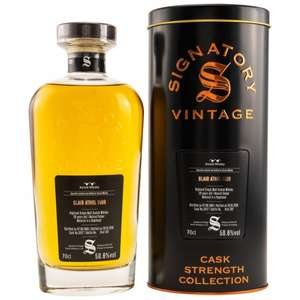[Whiskyzone.de] Blair Athol 29 Jahre 1989/2019 Signatory Cask Strength 50.6% 0,7l ,Single Malt Whisky, NUR 207 Flaschen!