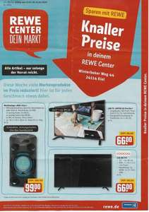 (Lokal Kiel REWE Center) DYON Enter 32 Pro-X2 & COOCAA LED-HD-TV 32