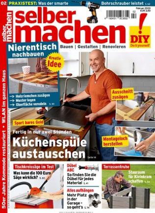 Selbermachen Magazin Abo (12 Ausgaben) für 45,40 € mit 35 € BestChoice Universalgutschein (Kein Werber nötig)