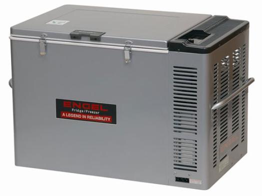 Engel MD-80-FCS: Kompressor-Kühlbox, 12V/24V, mit Tiefkühlfunktion, 80 Liter Volumen nur 32 Watt Stromverbrauch / kein erhöhter Anlaufstrom