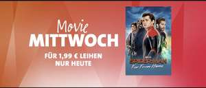 Spider-Man Far From Home leihen - Amazon / iTunes Movie Mittwoch