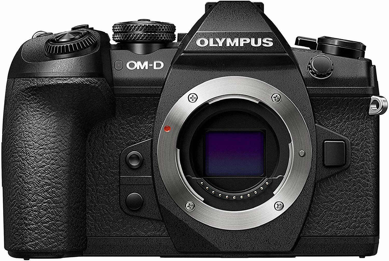 Olympus OM-D E-M1 Mark II Systemkamera (MFT, 20,4 Megapixel, 5-Achsen Bildstabilisator, elektronischer Sucher)