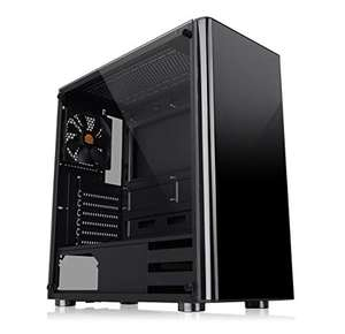 Thermaltake V200 Tempered Glass Edition Gaming PC Gehäuse Schwarz