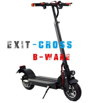 E-Scooter IO HAWK EXIT-Cross (500 Watt-Motor) mit Offroad Charakter und Strassenzulassung