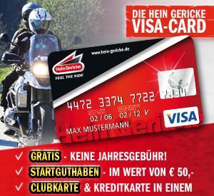 Hein Gerike [online?] kostenlose VISA Card mit 50€ Einkaufsguthaben für den Shop