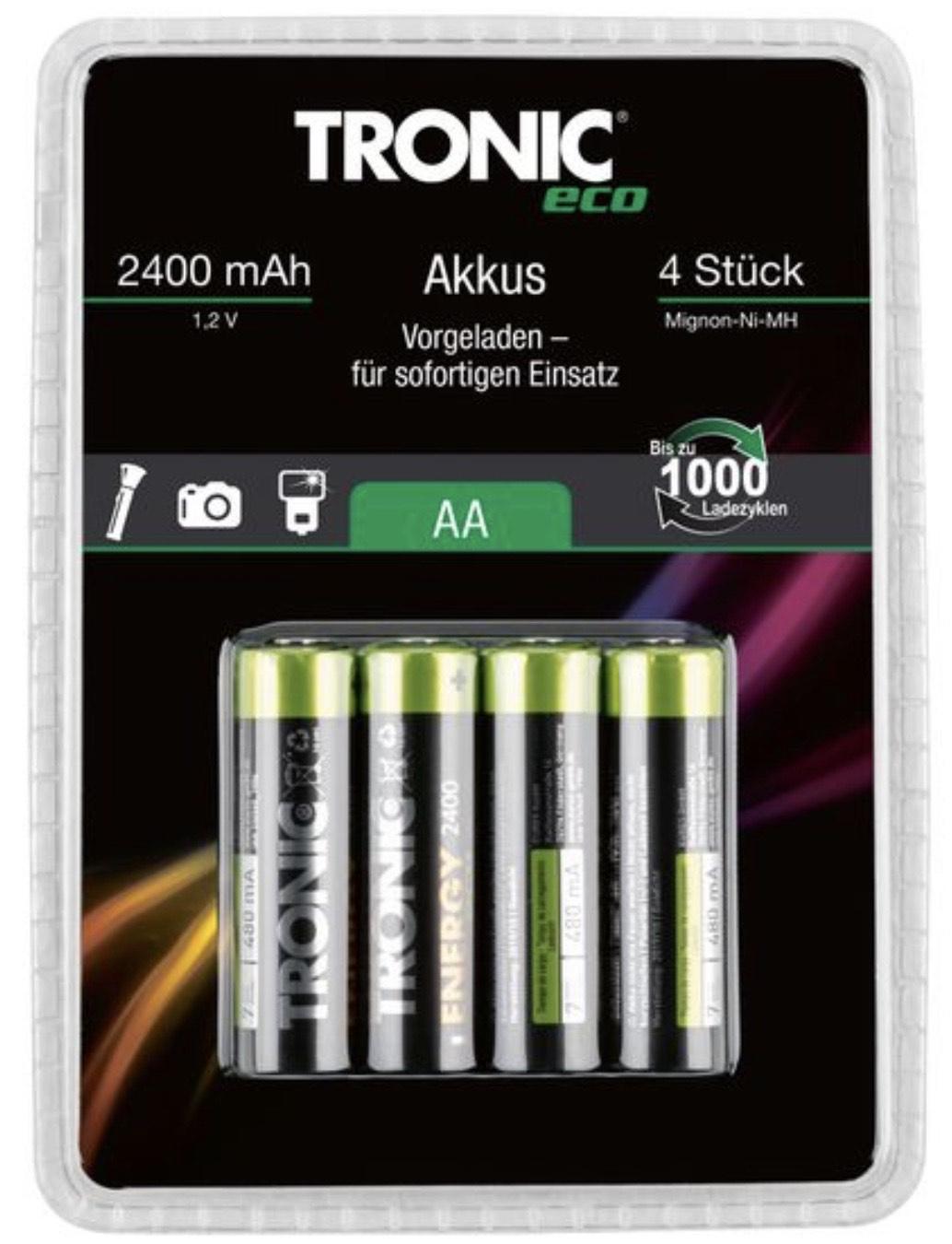 Lidl Tronic Akkus Ready to use AA und AAA im Markt und online