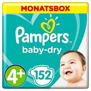 Pampers Baby-Dry Windeln Gr. 4+, 5, 5+, Pants Gr. 3 [Amazon]