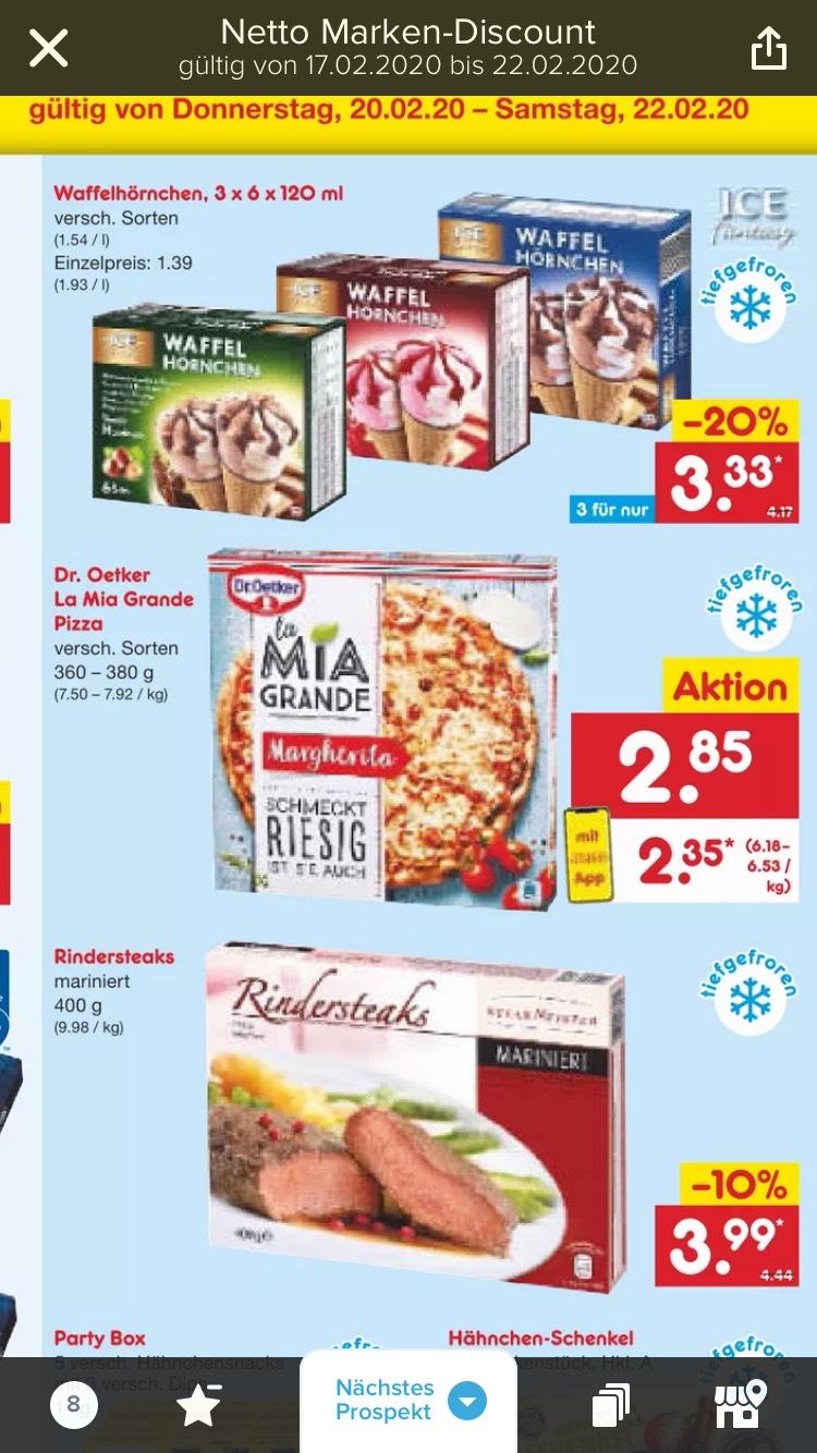 Dr. Oetker La Mia Grande Pizza