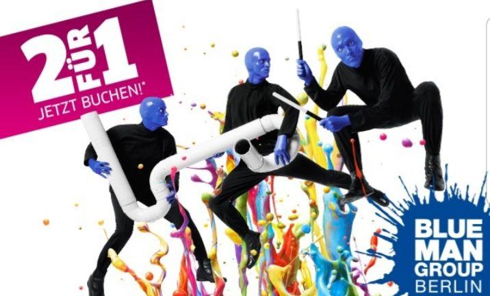 [lokal Berlin] Blue Man Group - 2 Tickets zum Preis von 1