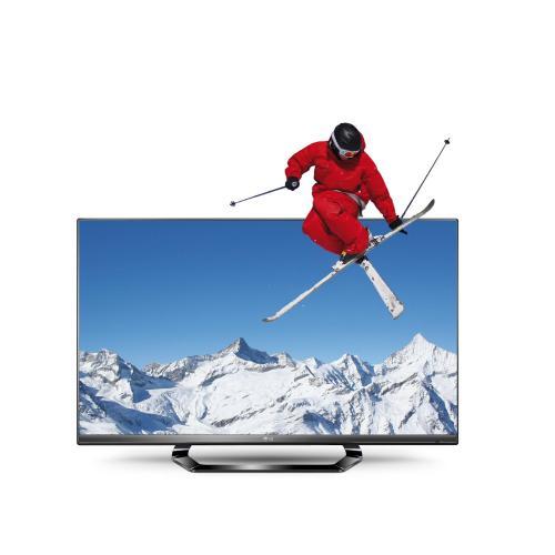 LG 47LM640S 119 cm (47 Zoll) Cinema 3D LED Plus Backlight-Fernseher, Energieeffizienzklasse A+ (Full-HD, 400Hz MCI, DVB-T/C/S2, Smart TV) schwarz @Amazon 699,99€