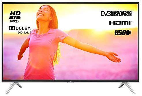 TCL 32DD420 Fernseher 80 cm (32 Zoll) LED TV (HD, Triple Tuner, HDMI, USB, Dolby Digital Plus, Hotelmodus) [Amazon & Mediamarkt & Saturn]