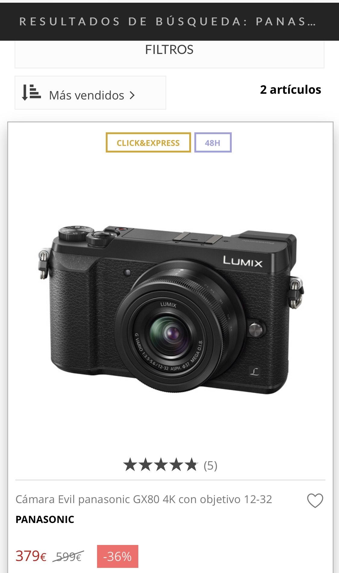 Panasonic Lumix GX-80